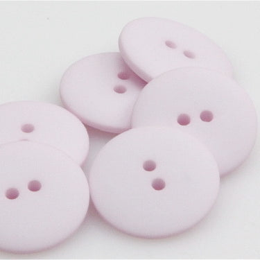 Satin Polyester Buttons - Pale Pink