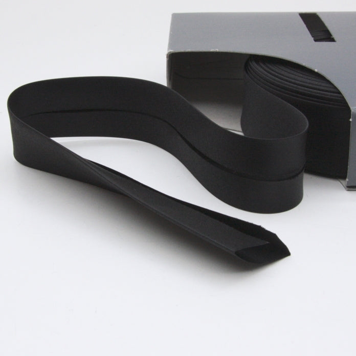 Prym Satin Bias Binding 30mm - 300 Black