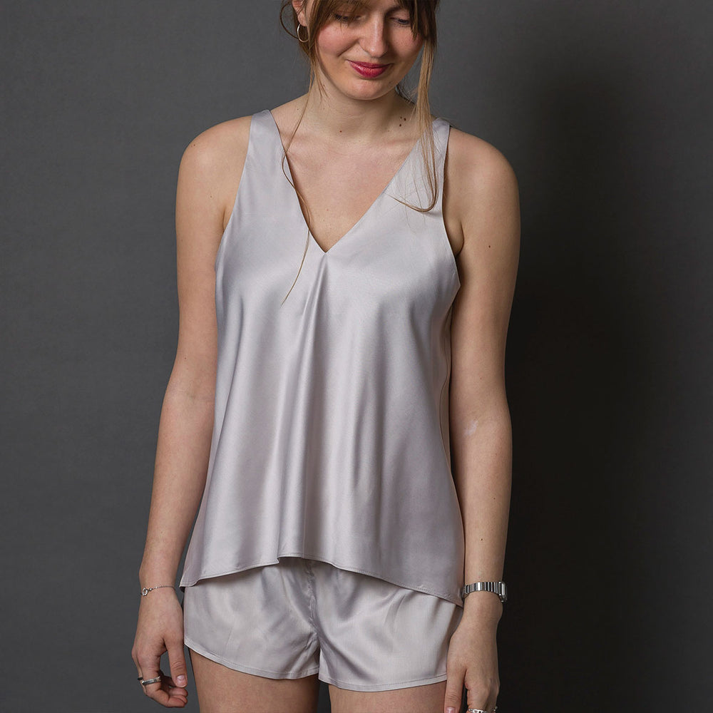 Introduction to Handling Bias Cut Silk - Make a Camisole