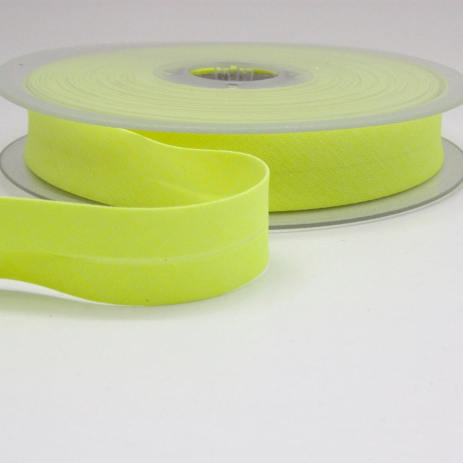 Fluoro Bias Binding 20mm - Neon Yellow