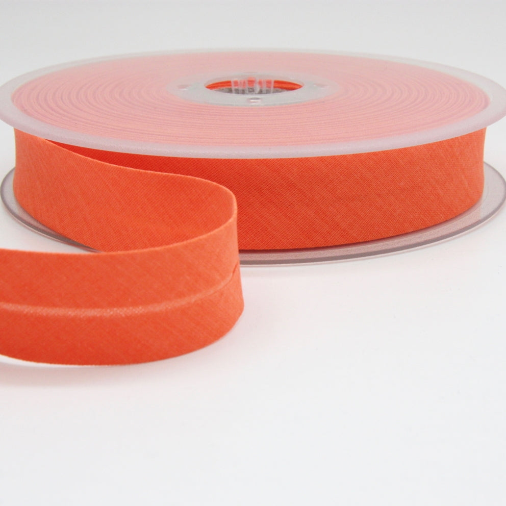 Fluoro Bias Binding 20mm - Neon Orange
