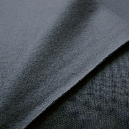 Organic Cotton Fleece - Black
