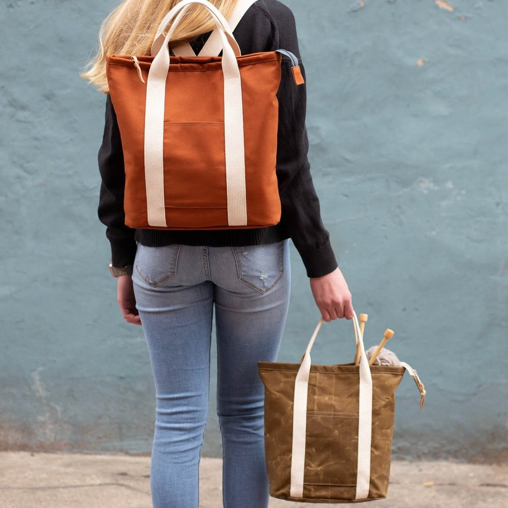 The Buckthorn Backpack and Tote - Noodlehead