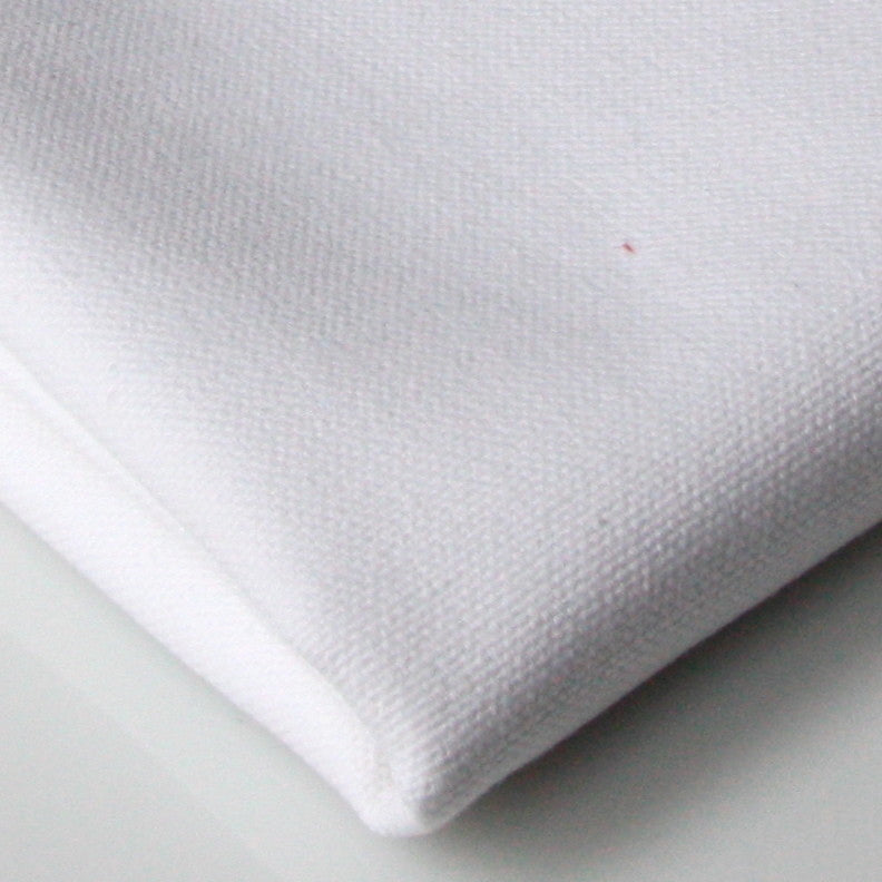 Organic Cotton Canvas - White