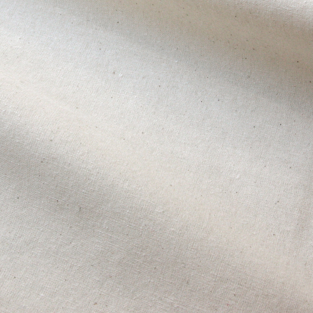 Organic Cotton Calico - Natural