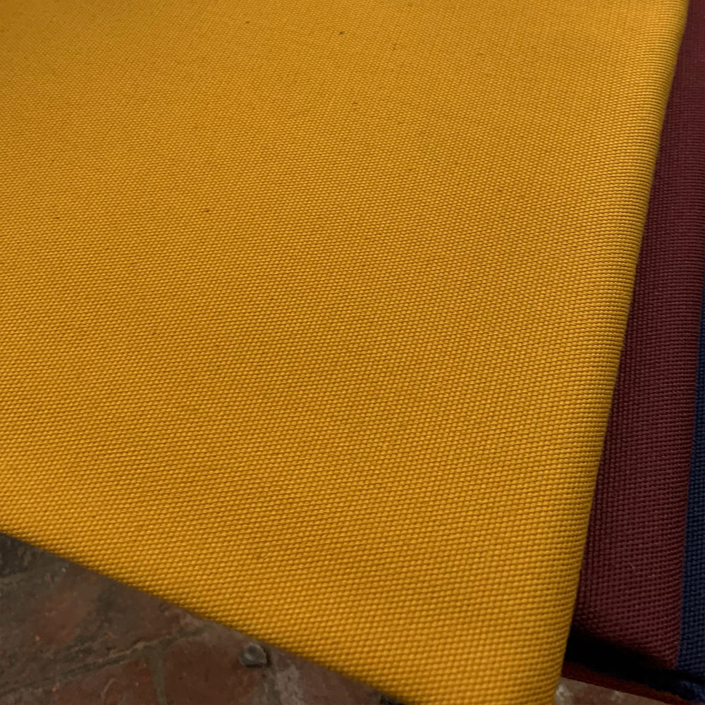 Organic Cotton Canvas - Mustard