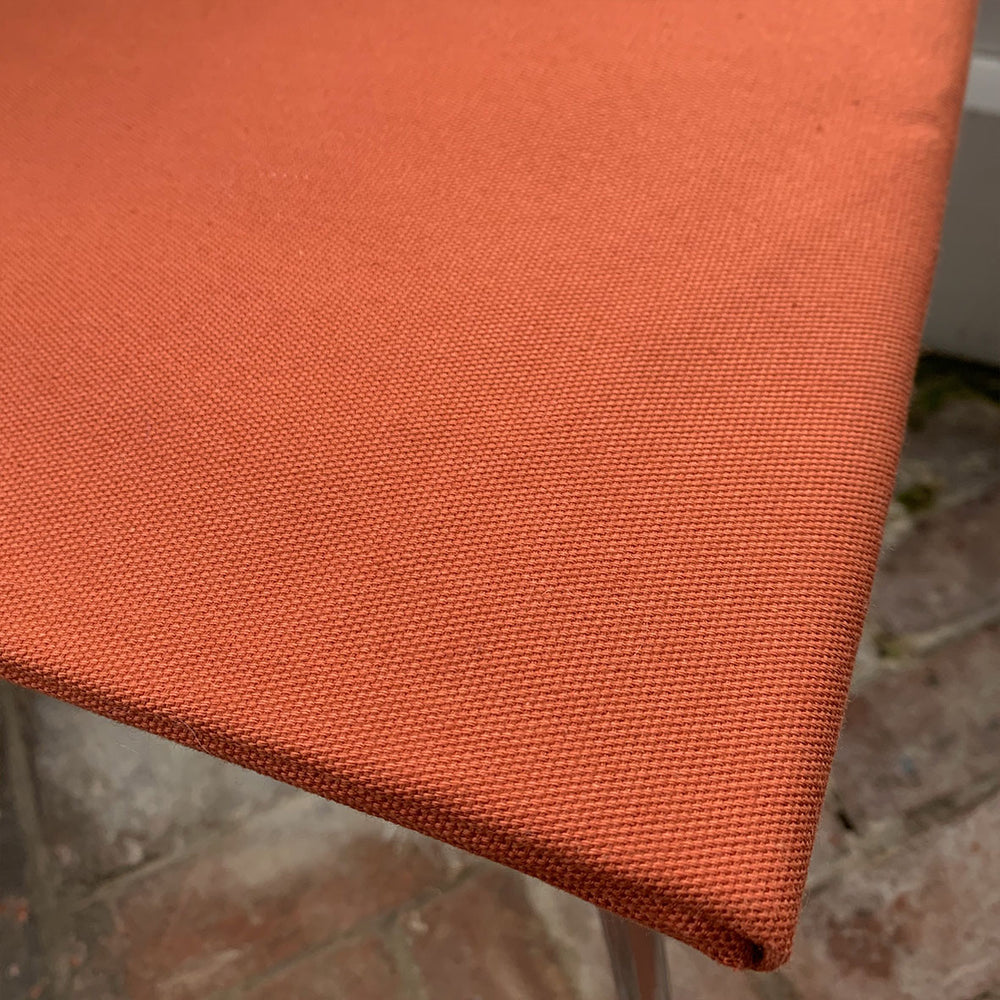Organic Cotton Canvas - Rust