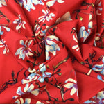 Luxury Printed Cotton Lawn - Cap Ferrat