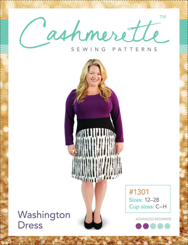 Cashmerette - Washington Contrast Dress