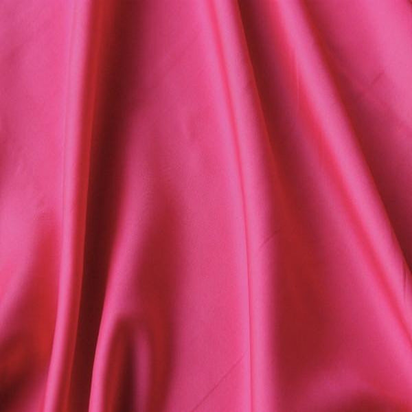 Anti-Static Dress Lining - Cerise