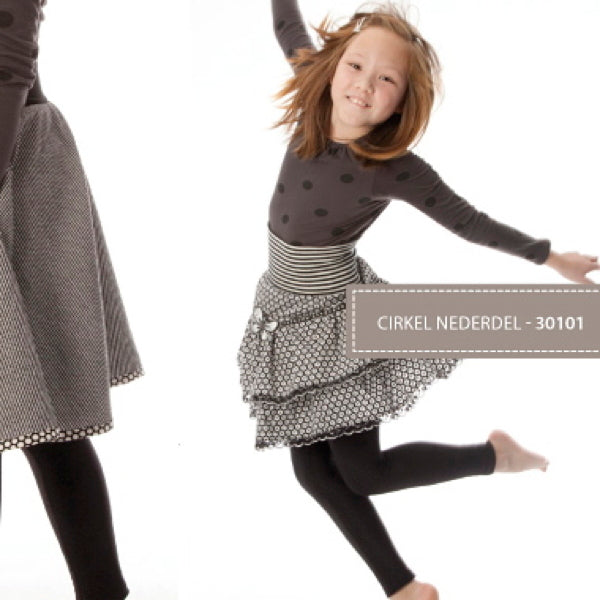 Minikrea 30101 - Girl's 'Cirkel Nederdel' Circle Skirt 4-10yrs