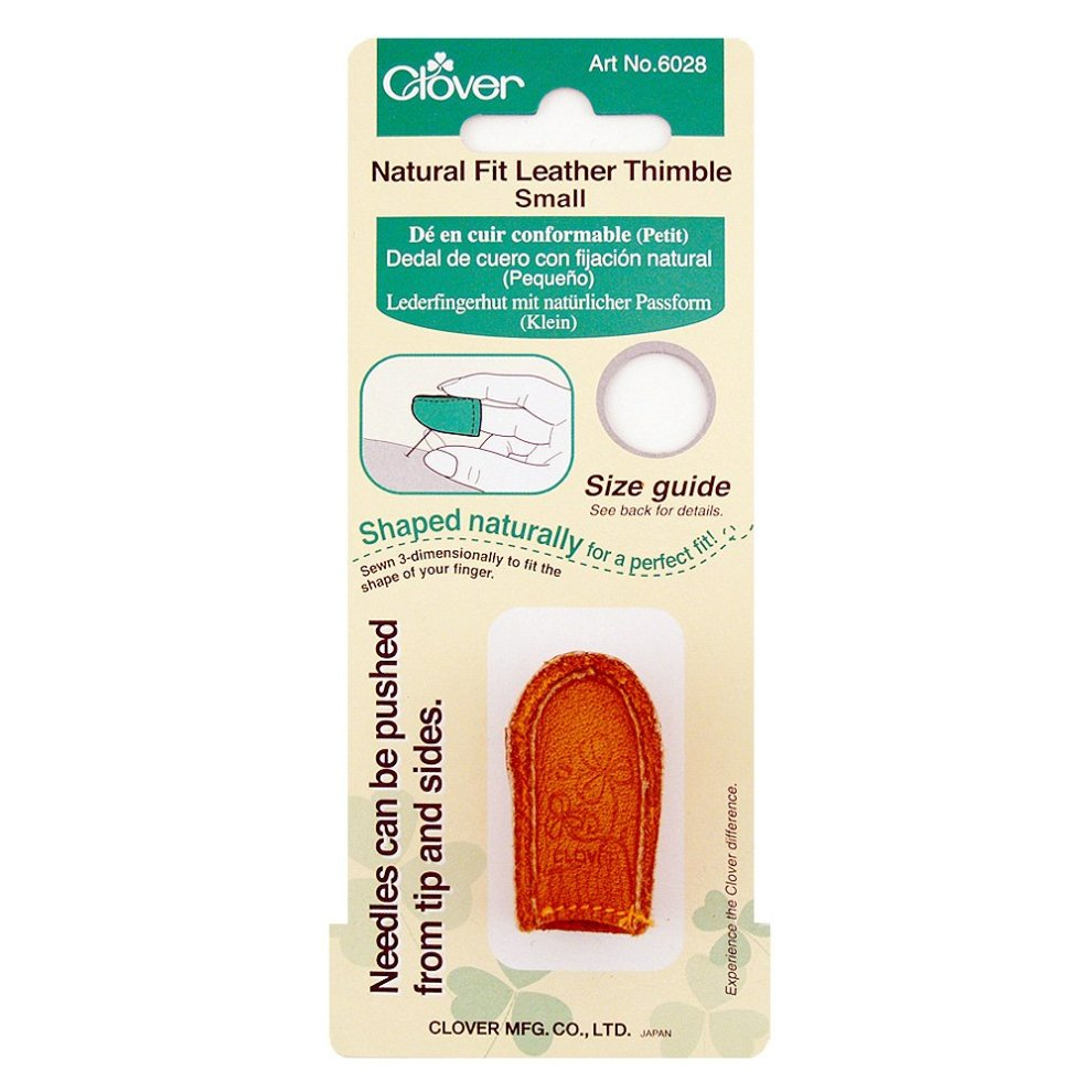Clover 6028 - Leather Thimble Small