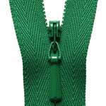 Concealed Zip - Bottle Green 876