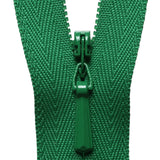 Concealed Zip - Emerald Green 876