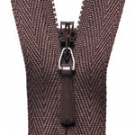 Concealed Zip - Brown 570