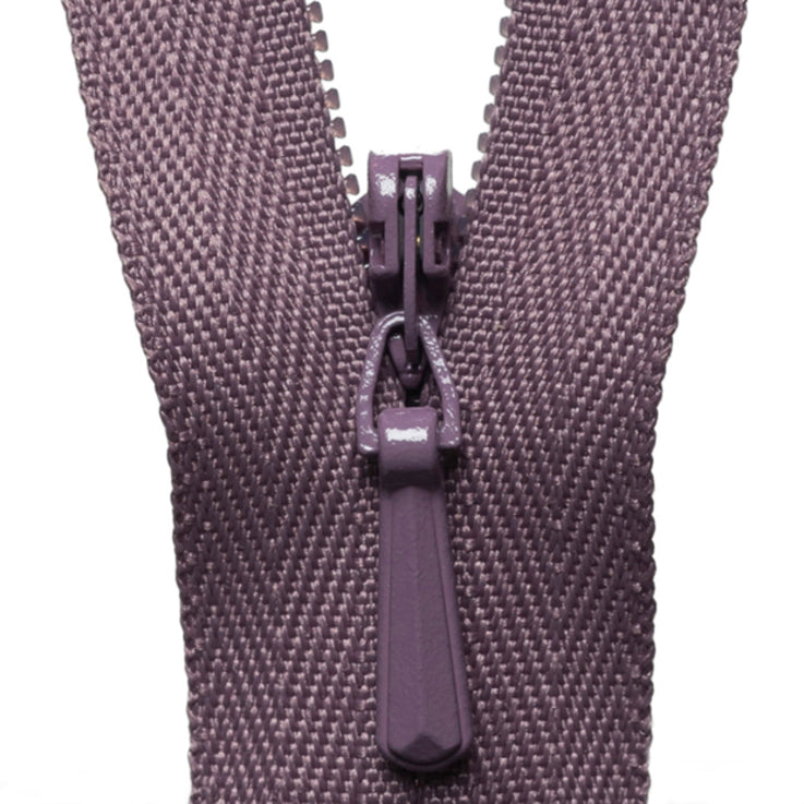 Concealed Zip - Grape 206