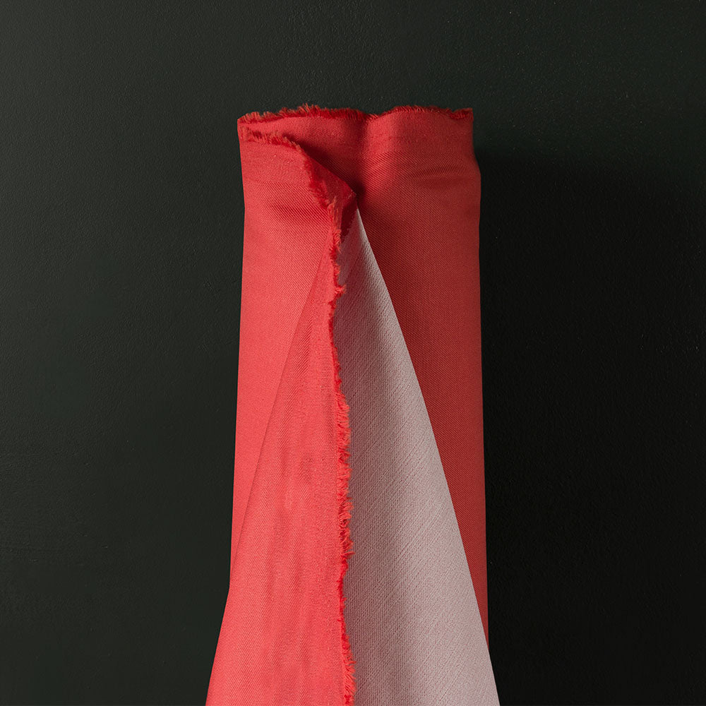 Showerproof - Coated Polyester - Coral