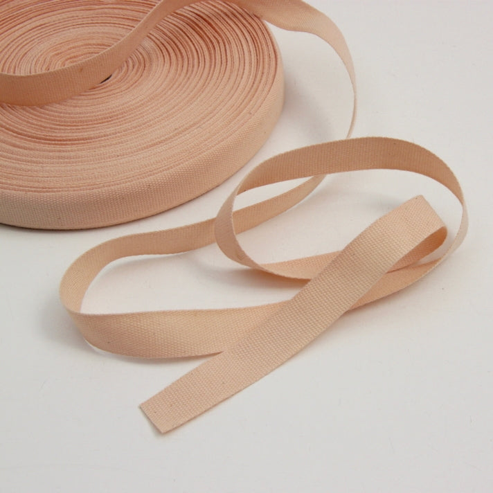 Cotton Stay Tape - Ballet Pink 15mm