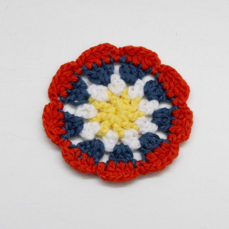 Crochet Flower - Red