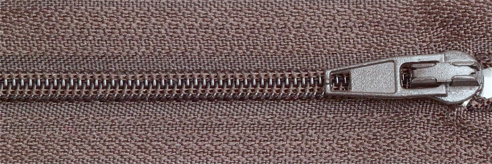 Standard Zip - Dark Brown