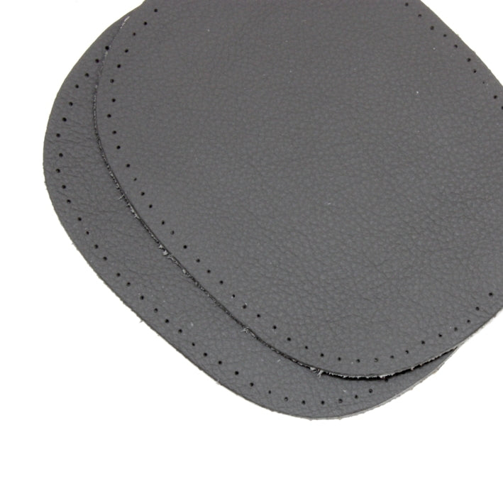 Kleiber Nappa Leather Elbow Patches - Dark Grey