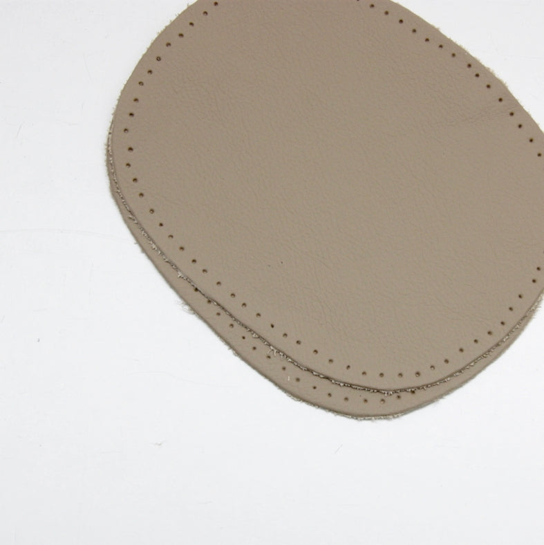 Kleiber Nappa Leather Elbow Patches - Beige
