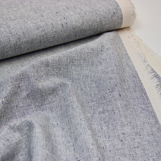 Essex Linen Mix Homespun - Indigo