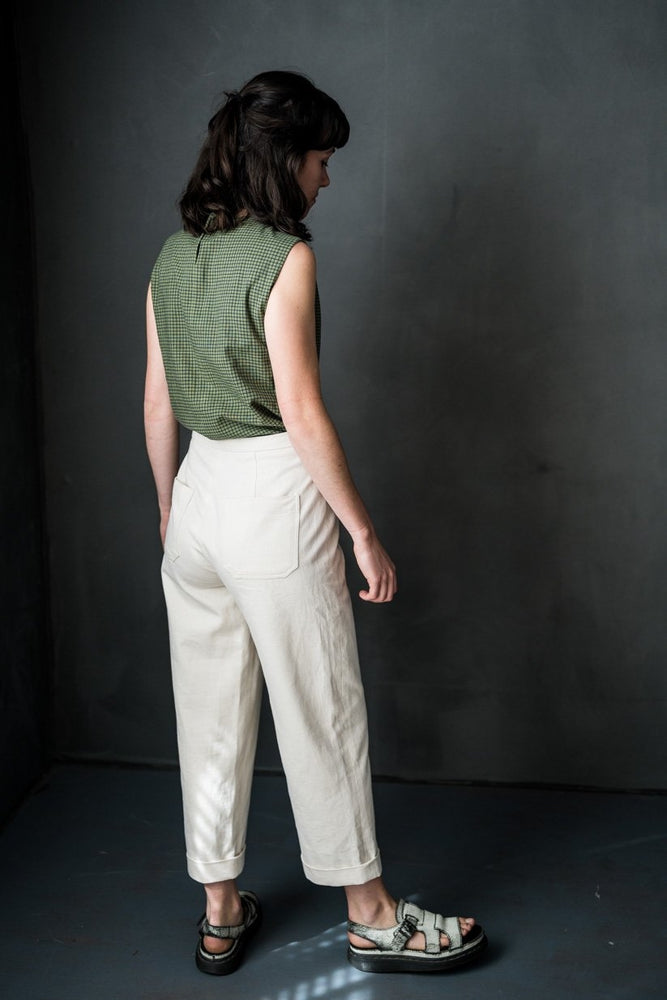 Sew a Pair of Tapered or Wide Leg Trousers