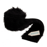 Faux Fur Roll - Black