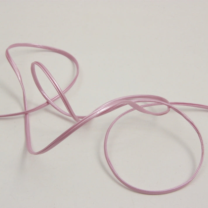 Faux Leather Cord - Pearl Pink 3mm