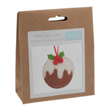 Felt Decoration Kit - Christmas Pudding