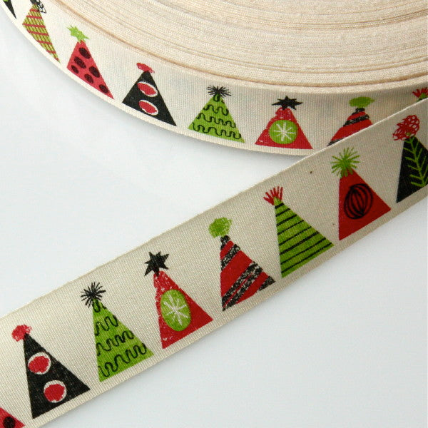 Alice Pattullo Party Hats Ribbon - By The Metre