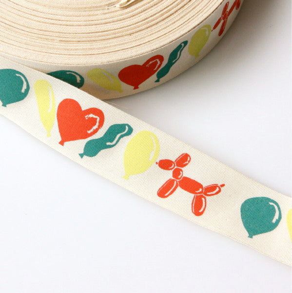 Alice Pattullo Party Balloons Ribbon - By The Metre
