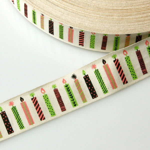 Alice Pattullo Party Candles Ribbon - By The Metre