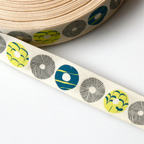 Alice Pattullo Party Biscuits Ribbon - By The Metre