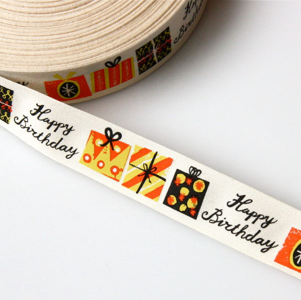 Alice Pattullo Happy Birthday Ribbon - By The Metre