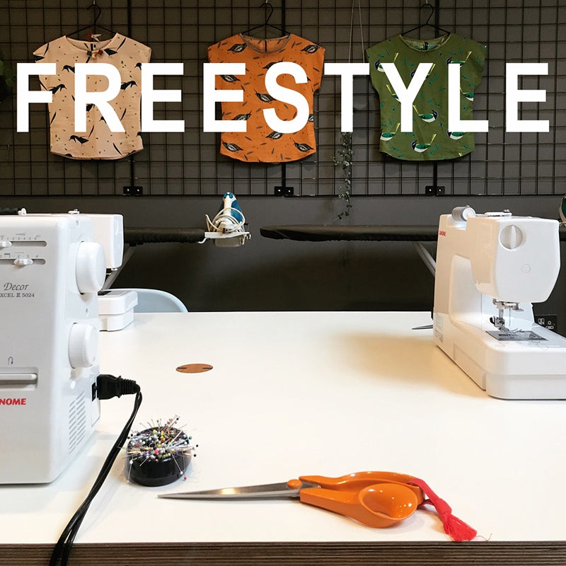 Freestyle Sewing - 4 Hour Workshop