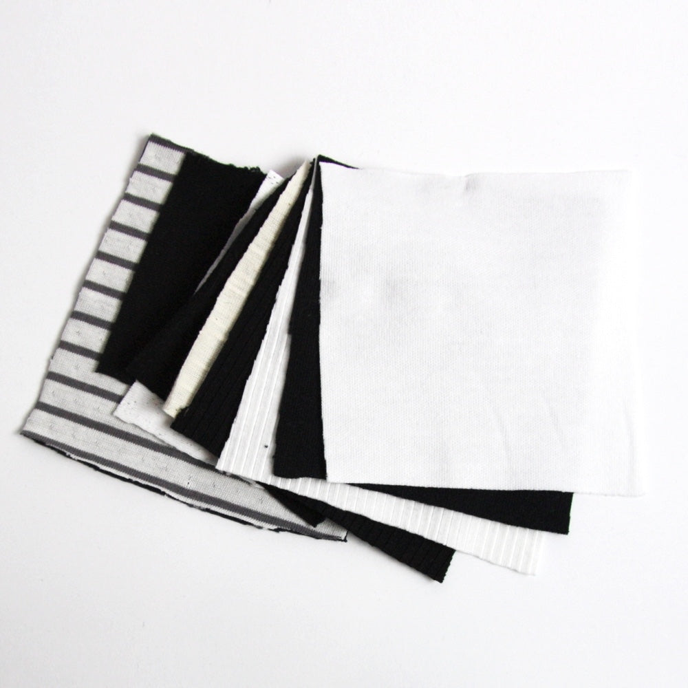 Organic Cotton Jersey Knit - Swatch Pack