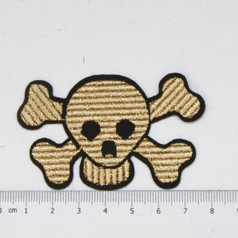 Iron-On Patch - Skull and Crossbones