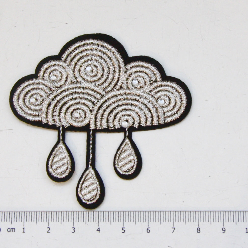 Iron-On Patch - Silver Cloud