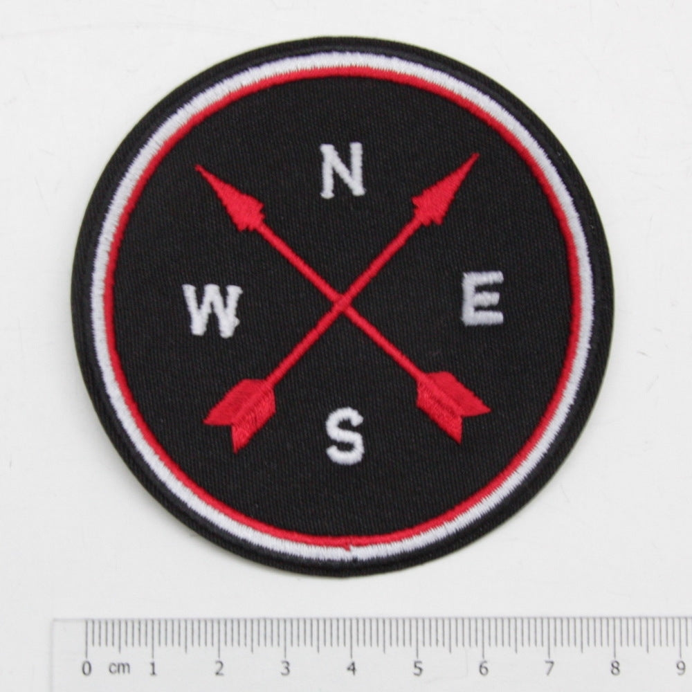 Iron-On Patch - Compass