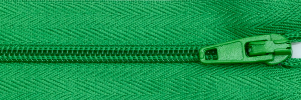 Standard Zip - Emerald Green