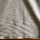 Organic Cotton Crossweave - Grey Marl