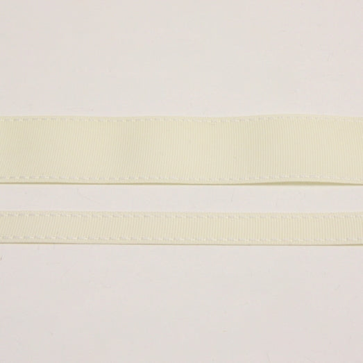 Grosgrain Stitch Ribbon - Cream