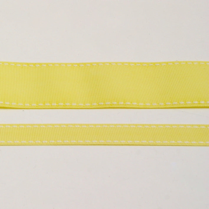 Grosgrain Stitch Ribbon - Sunshine