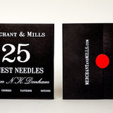 Merchant and Mills - Finest Needle & Needle Threader Pack