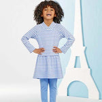 Simplicity Girl's 1023 - Dress & Leggings