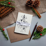 Botanical Christmas Cards - Mistletoe