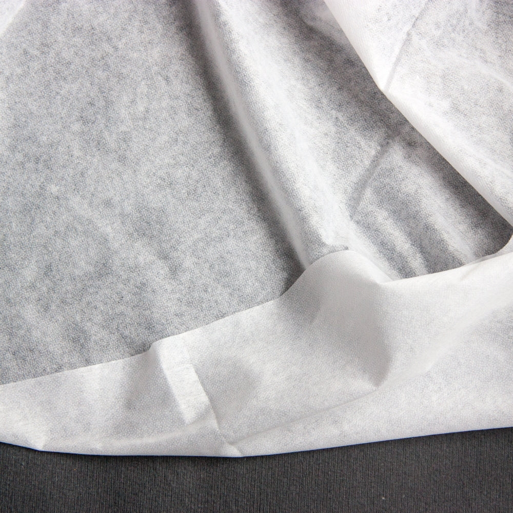 Manly Fusible Non-woven Interfacing- Lightweight - White
