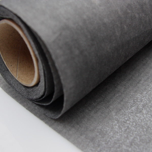Non-Woven Fusible Interfacing - Heavyweight Charcoal
